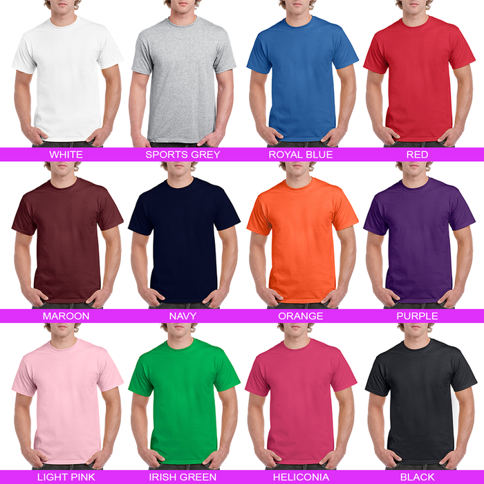 Men's T-Shirt (Photo Upload with Text) - Personalised Custom Print Products Fun Printz Gainsborough