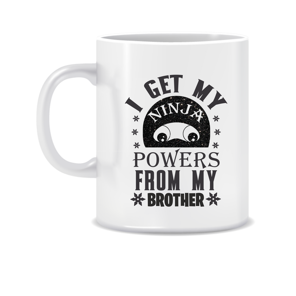 Ninja Powers from my Brother Mug