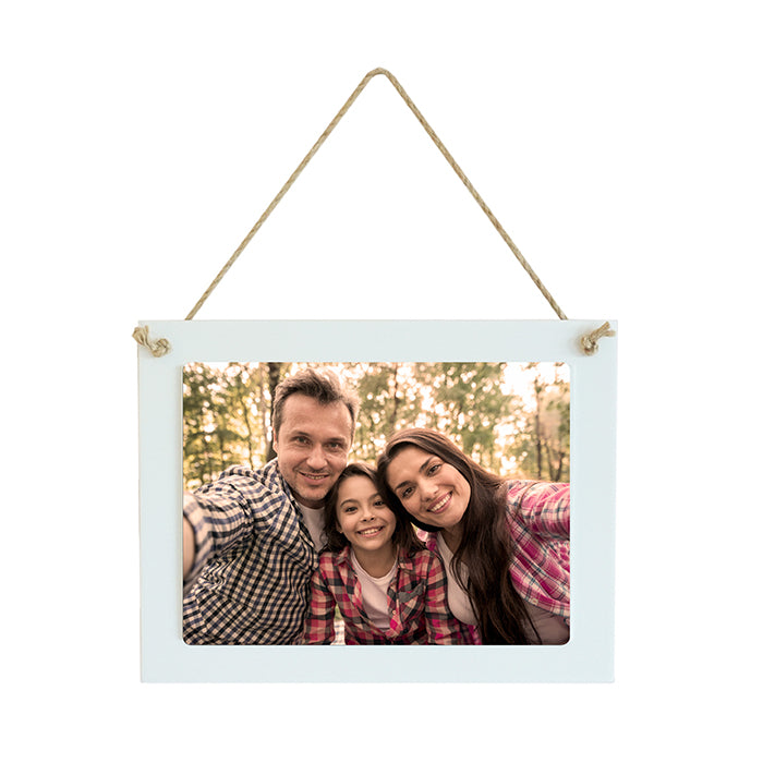 Hanging Sign Small Rectangle with Photo 21 X 16CM