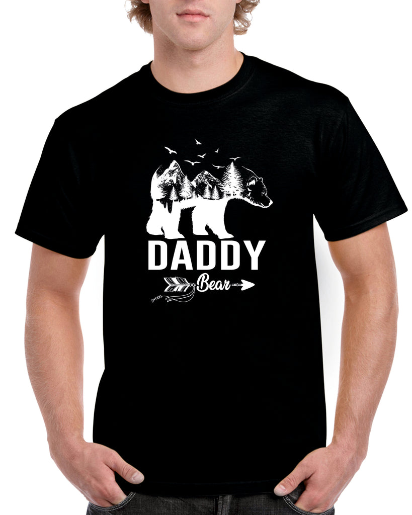 Daddy Bear Tshirt - Personalised Custom Print Products Fun Printz Gainsborough