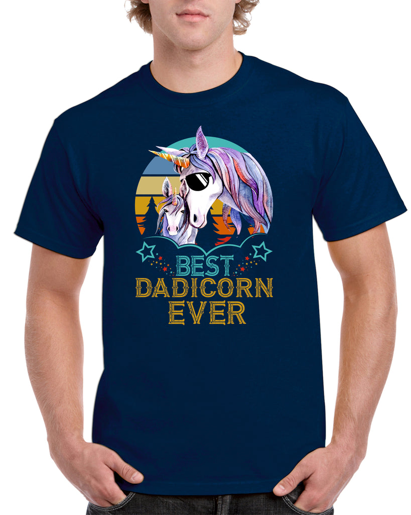 the Best Dadicorn Ever Tshirt - Personalised Custom Print Products Fun Printz Gainsborough