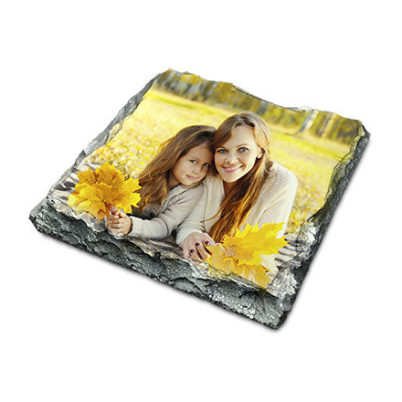 Personalised Slate Coaster - 10cm x 10cm Square - Personalised Custom Print Products Fun Printz Gainsborough