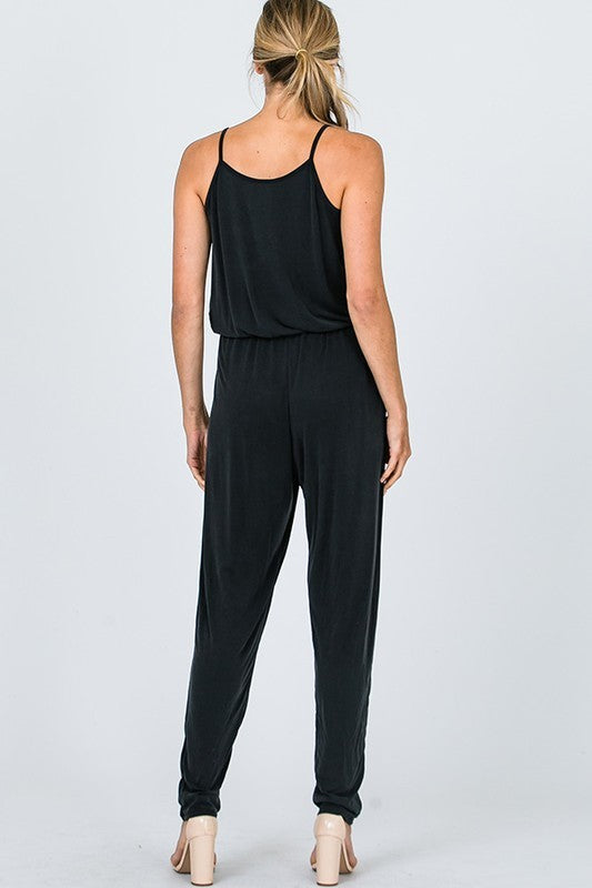 Go Anywhere Jumpsuit in Black