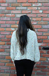 Sprinkles Funfetti Sweater in Ivory Chenille