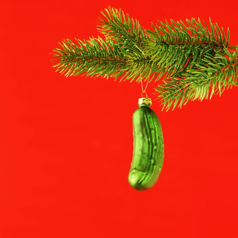 Hanging a pickle