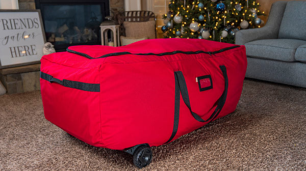 EZ Roller Christmas Tree Storage Bag with Wheels from Santa's Bags