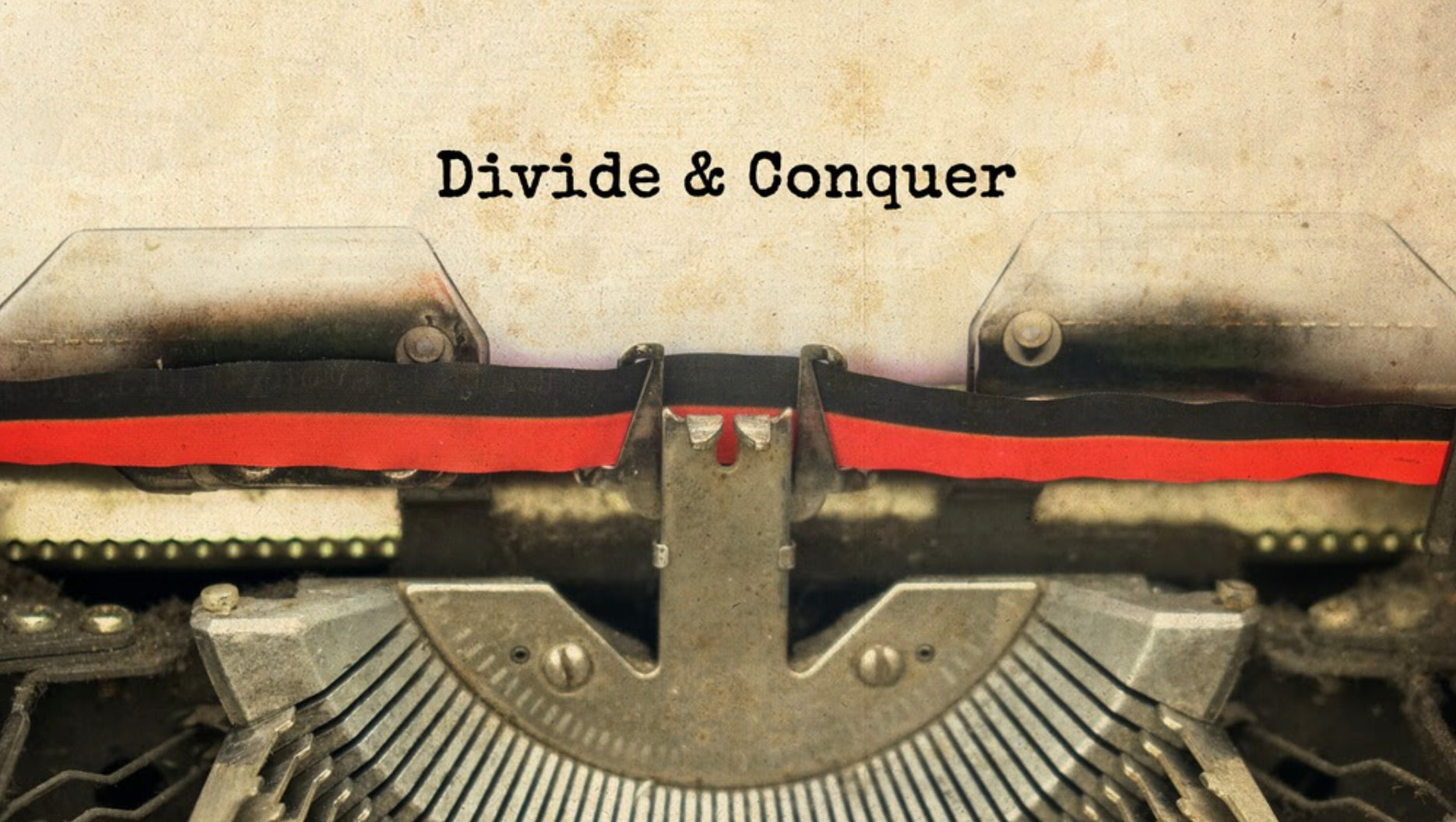 Divide and conquer organization ideas