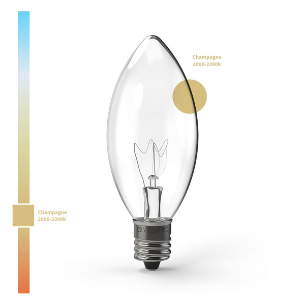 Super C9_Transparent Incandescent Bulbs  |  Christmas World