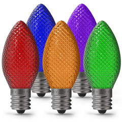 Super C9_Faceted LED Bulbs  |  Christmas World