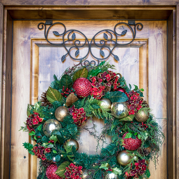 Wreath Hangers_Ivy Wreath Hanger  |  Christmas World