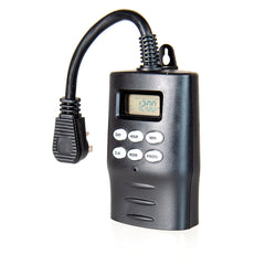 Digital Timer With Photocell