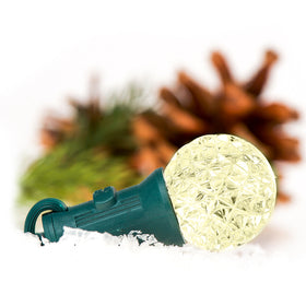 Faceted LED Patio Lights | Christmas World