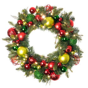 Festive Holiday Wreath | Christmas World