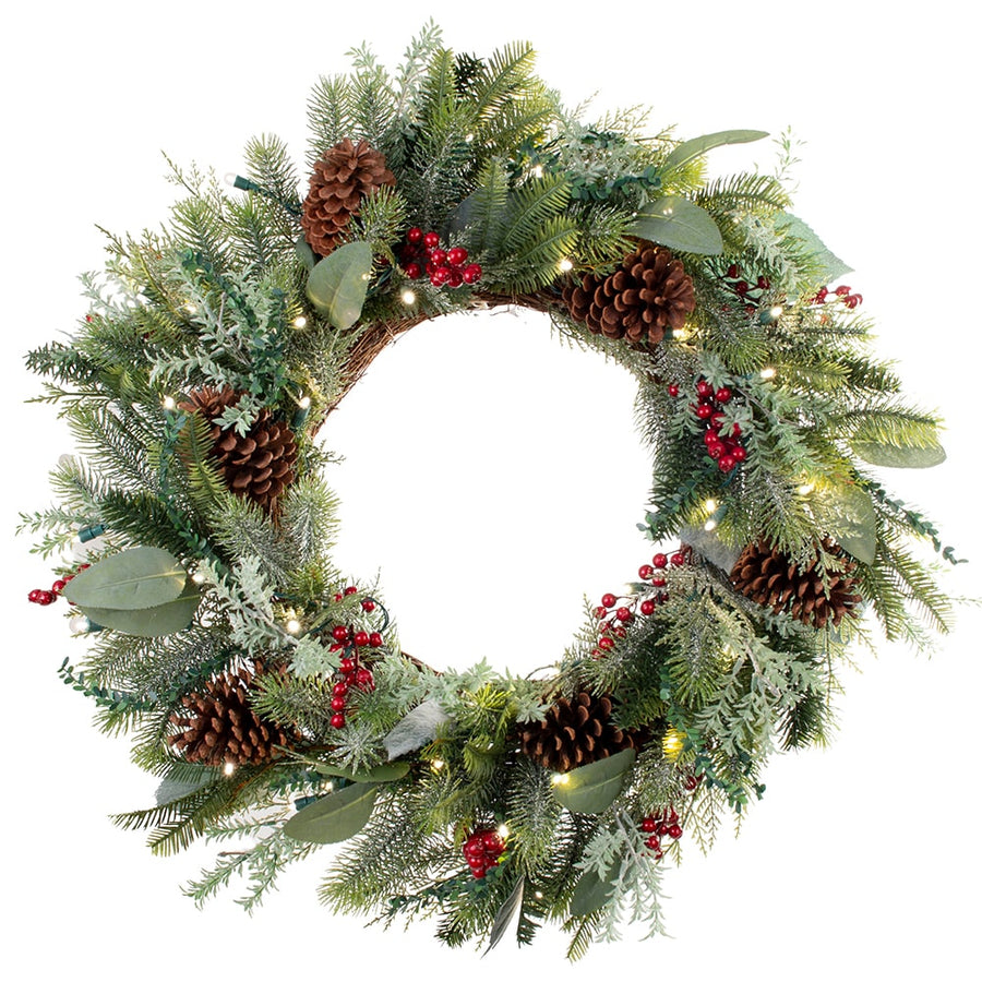 Wreath_Winter Frost Wreath  |  Christmas World | Christmas World