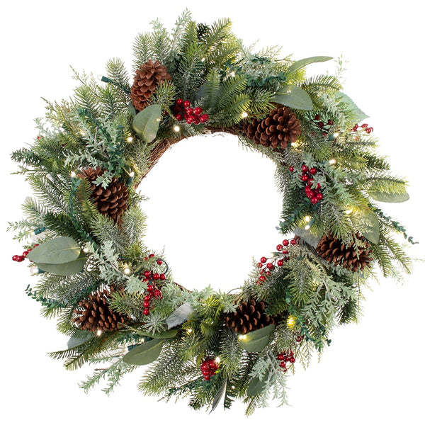 Wreath_Winter Frost Wreath  |  Christmas World