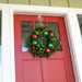 Christmas Cheer Red & Green Wreath - 24 Inch Thumbnail | Christmas World