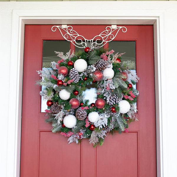 Frosted Wonderland Wreath (30-Inch)