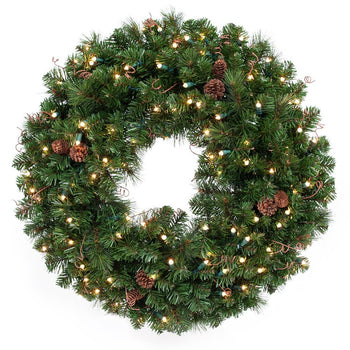 Black Forest_LED Wreath  |  Christmas World