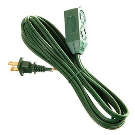 Cube Tap Extension Cord 3 Plug | Christmas World