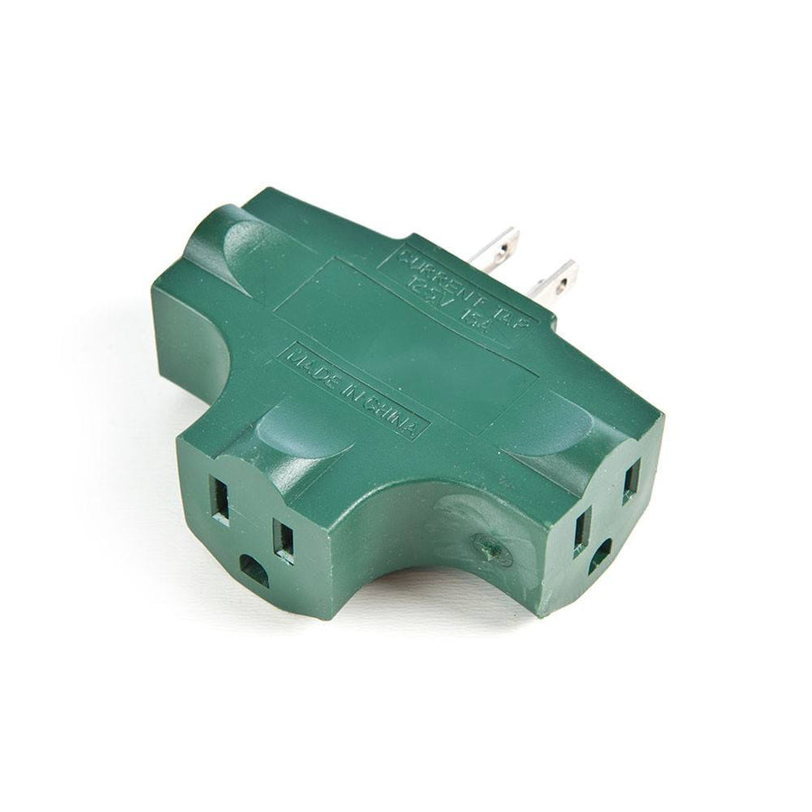 Extension Cords_Triple Tap Plug Adapter  |  Christmas World | Christmas World