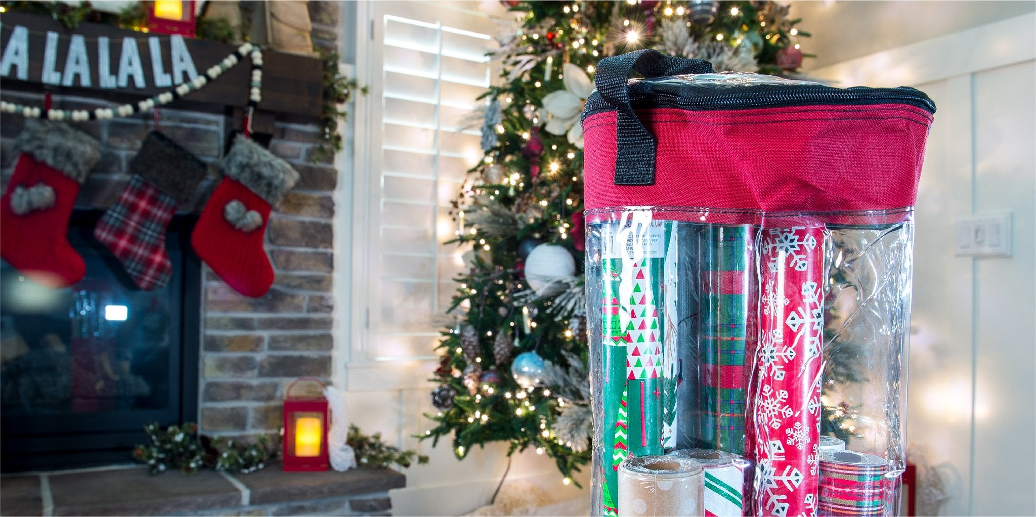Santa's Bags Holiday Storage Solutions
