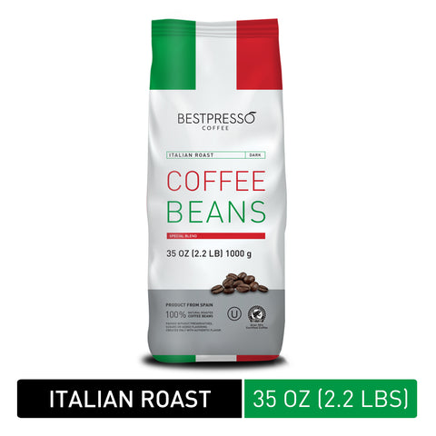 Italian Roast Whole Bean, 35 oz