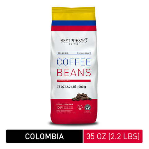 Colombia Roast Whole Bean, 35 oz
