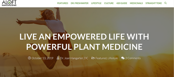 LIVE AN EMPOWERED LIFE WITH POWERFUL PLANT MEDICINE