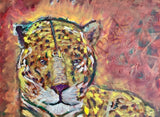 The Eye of The Rainbow Tiger Giclee Art Print on Canvas