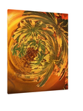 Cannabis Growing from the Inside Out - Giclee Print on Canvas