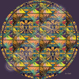 Wheel of Life Giclee Art Print on Canvas
