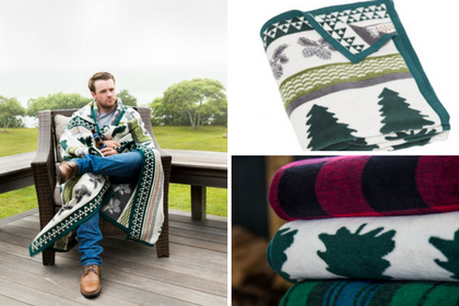 OUR PINES AND NEEDLES BLANKET AND THROW - CHAPPYWRAP PRODUCT SPOTLIGHT