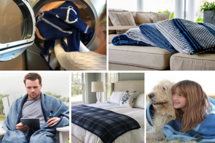 Best Non-Shedding Blanket ChappyWrap Bed Blankets and Couch Throws - Finding a Throw Blanket That Doesn't Shed