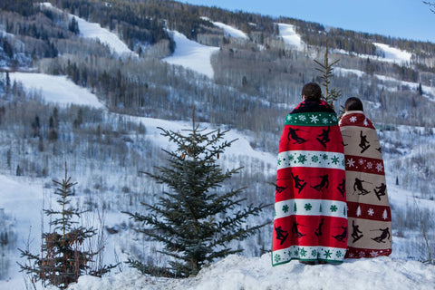 winter holiday blanket by chappywrap holiday blankets
