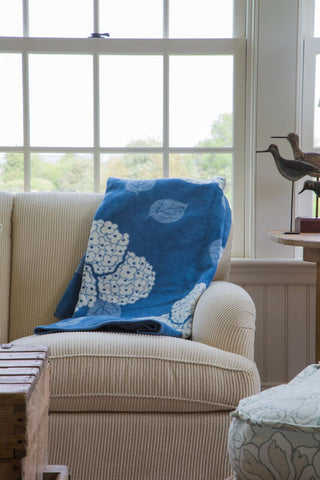 Decorating your home with blankets - how to decorate with blankets by chappywrap