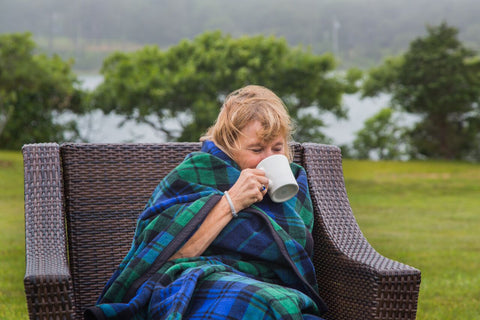 plaid blanket by chappywrap - top ten best cabin blankets