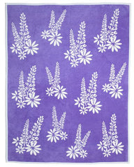 Flower blanket by chappywrap lupine blanket and throw