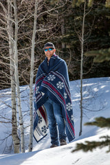 Top Ten Winter Blankets and Throws by ChappyWrap - Snowflake Fair Isle Blanket