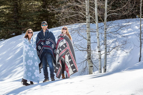 winter snowflake blanket - top 10 best winter blankets designs chappywrap
