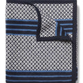 Captain's Classic Dark Blue Blanket