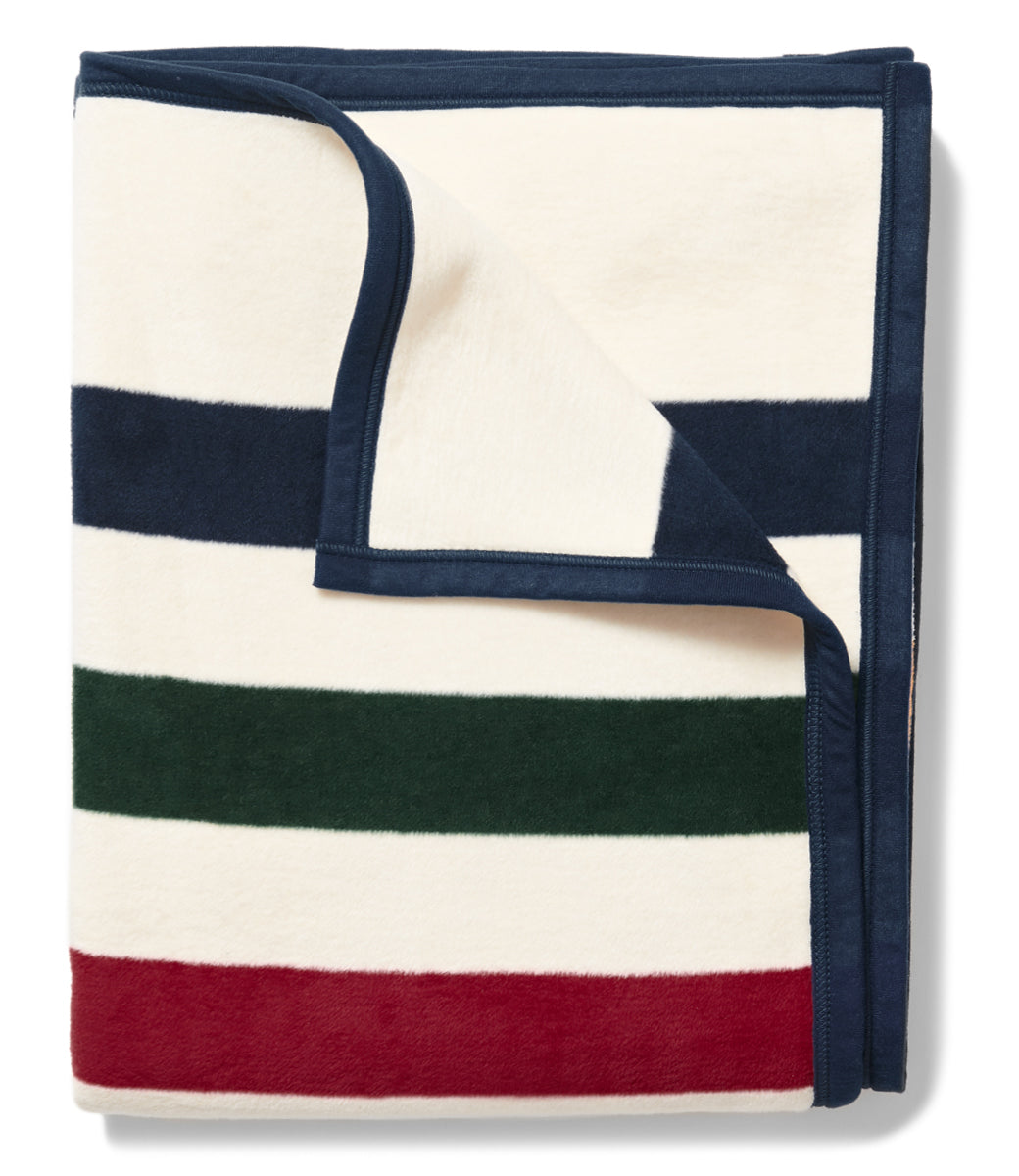 Casco Bay Stripe Blanket