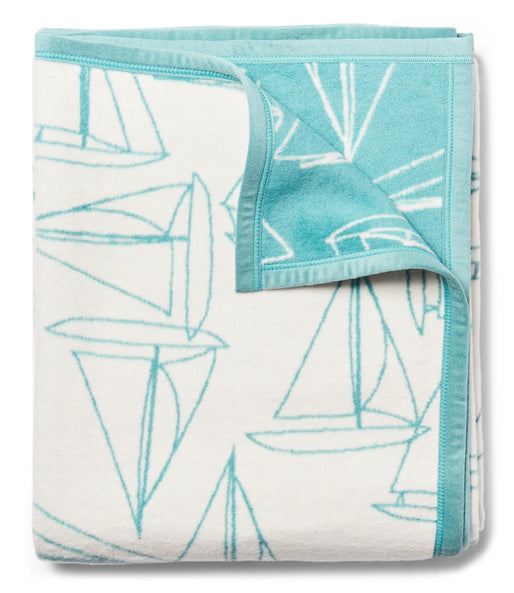 Fair Winds Turquoise Blanket