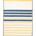 Madaket Stripe Yellow Blanket