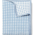 Polka Dots Light Blue Blanket