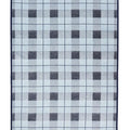 Sea Watch Plaid Blue Blanket