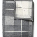 Sea Watch Plaid Grey Blanket