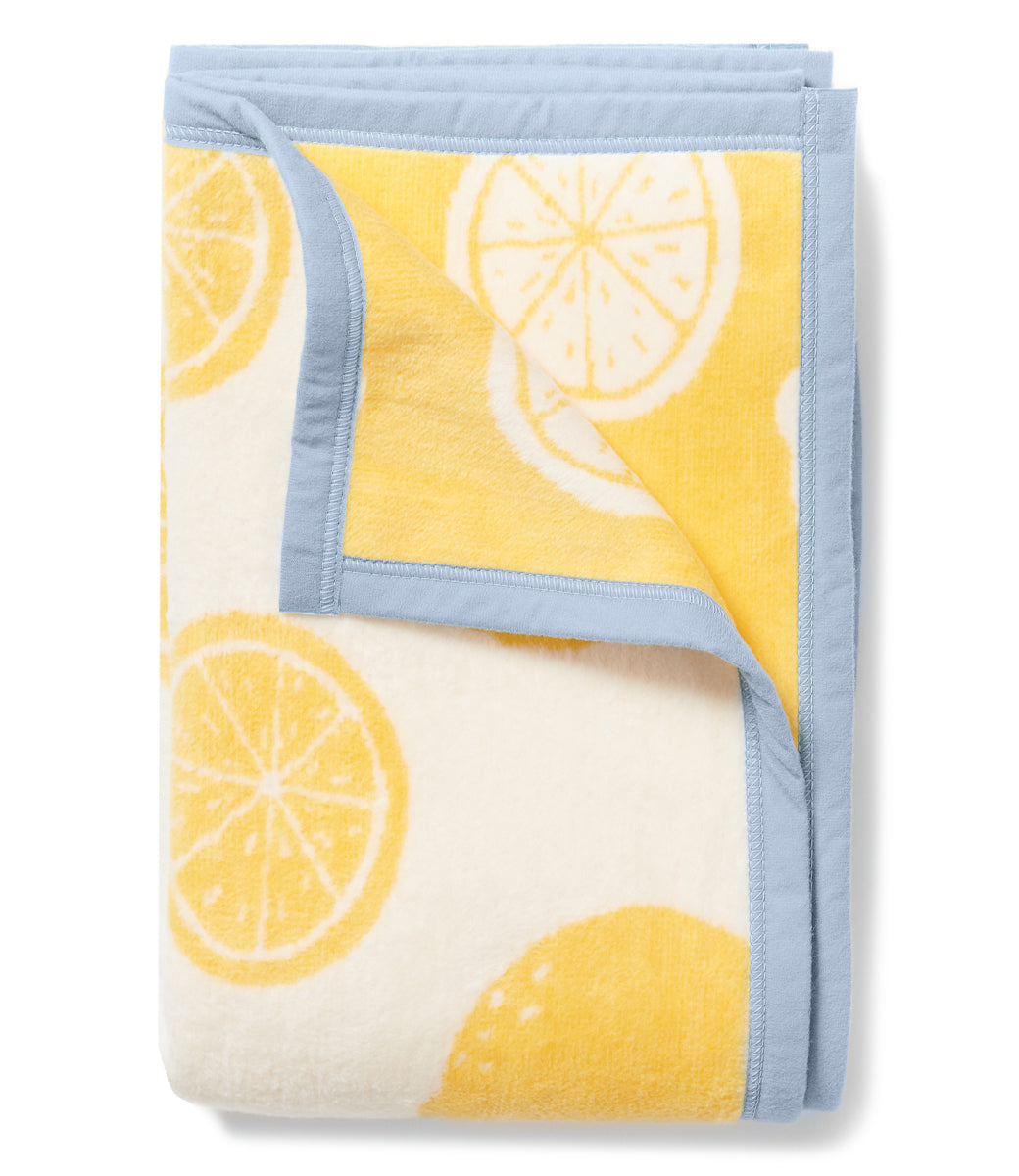 The Amalfi by Lemon Stripes Midi Blanket