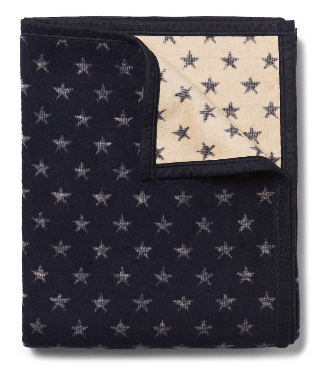 True North Navy Star Blanket