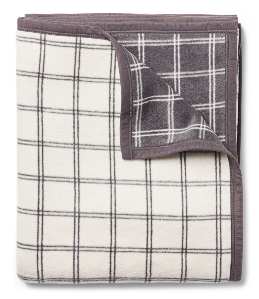 Window Pane Plaid Blanket