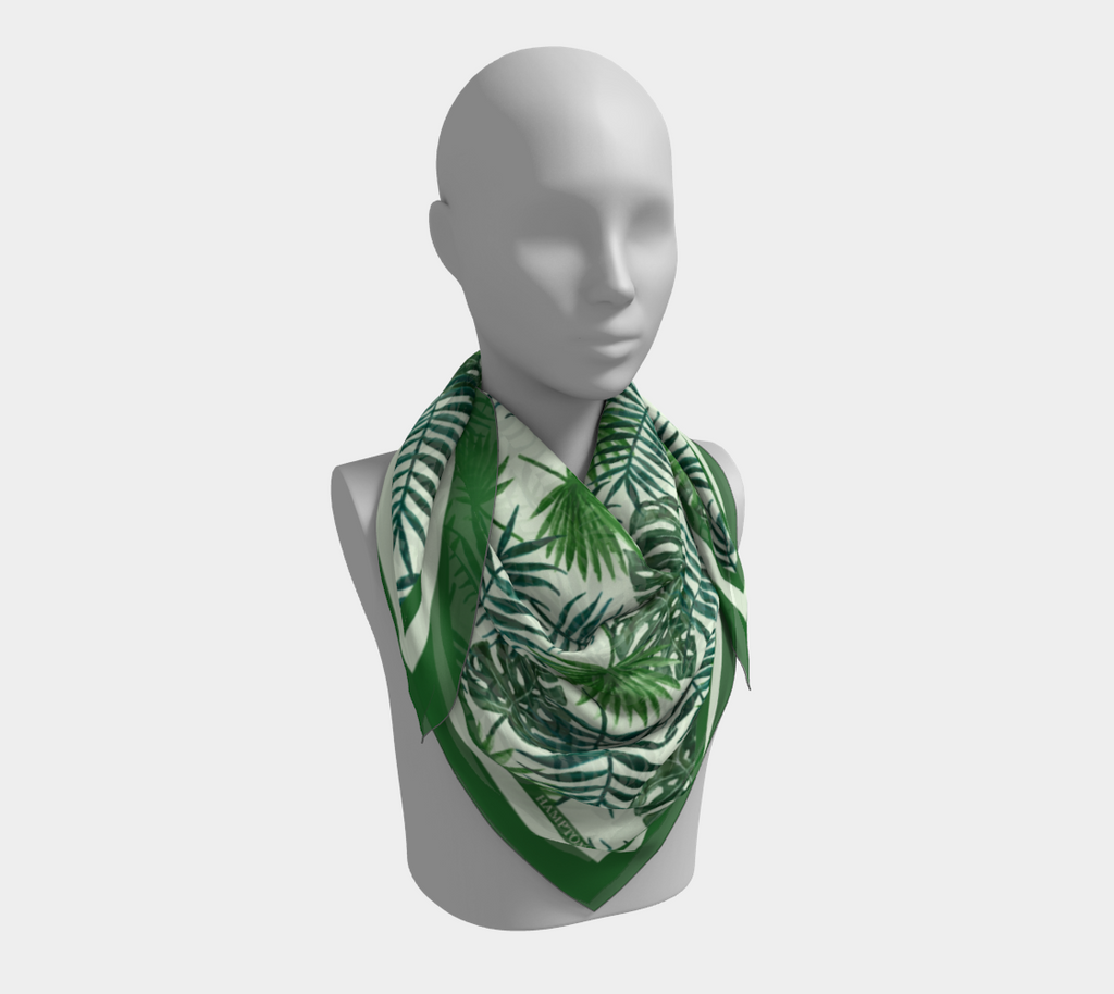 Palm Beach Satin Scarf